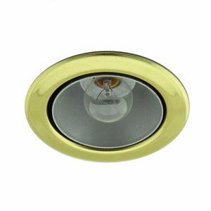 Brass Canister Light Reflector